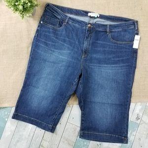 Pilcro The Letterpress High Rise Crop Legging Jean